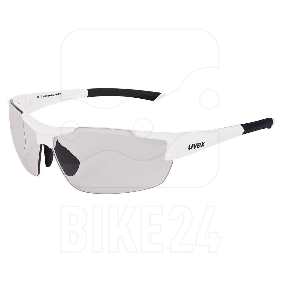Uvex sportstyle 612 VL - white / variomatic smoke - Brille