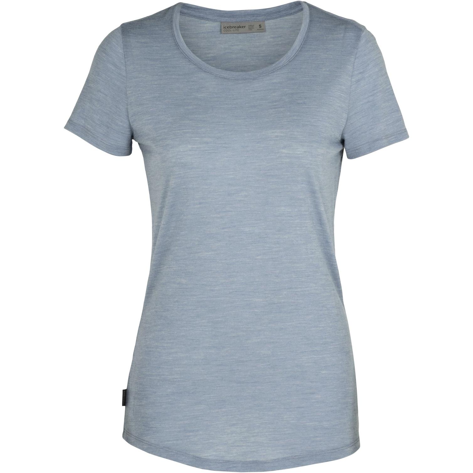Produktbild von Icebreaker Sphere Low Crewe Damen T-Shirt - Gravel HTHR