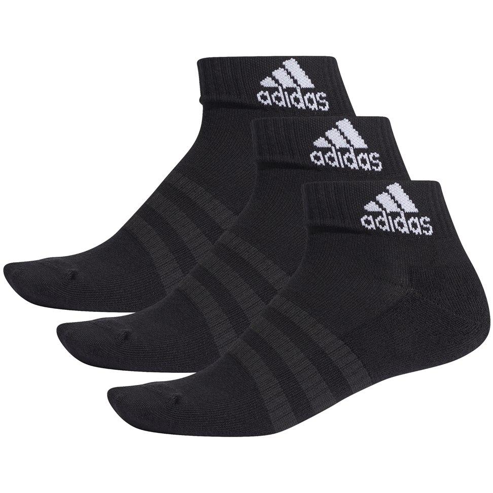 Foto de adidas Cushioned Ankle Socks 3 Pairs - black/black/black DZ9379