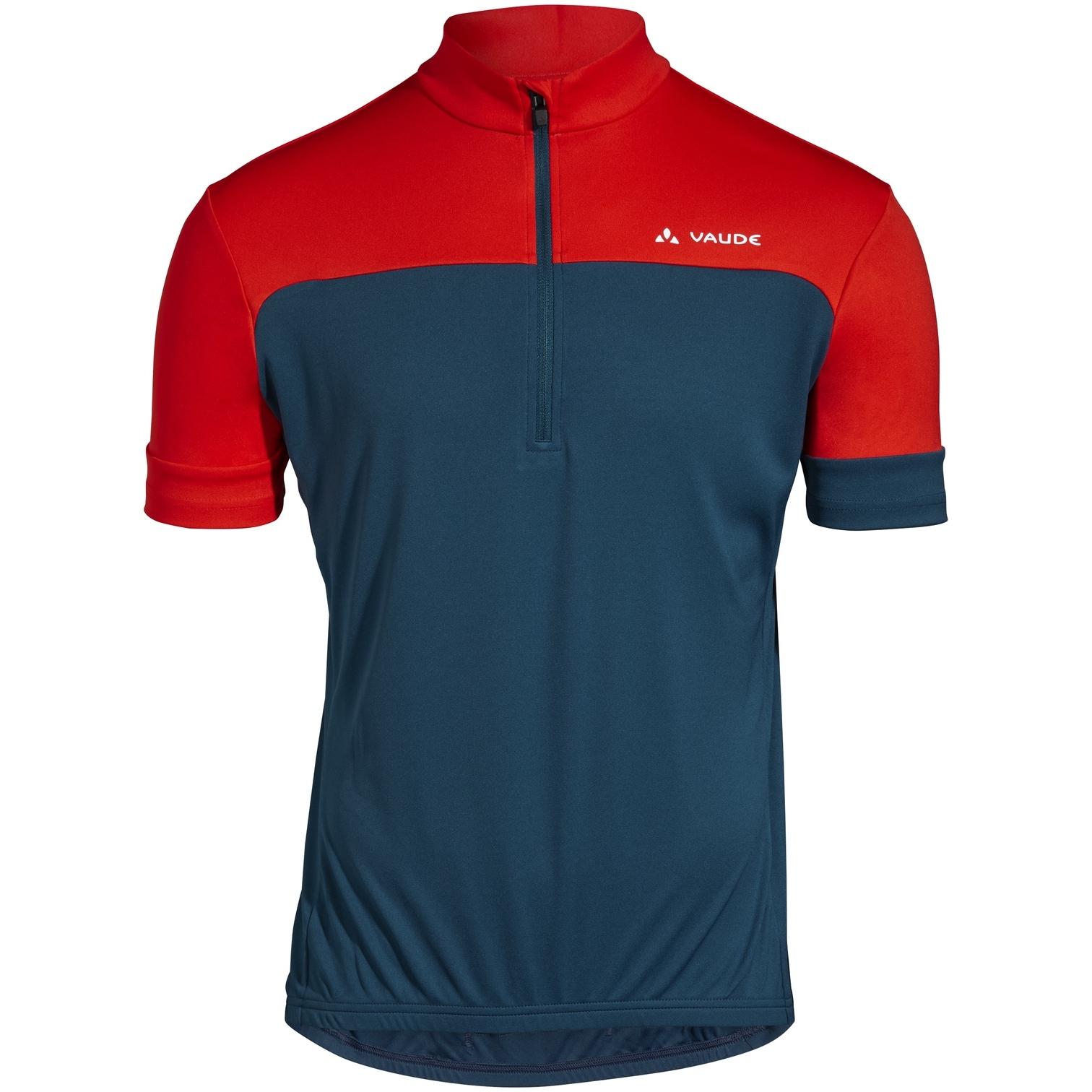 Vaude Men's Mossano T-Shirt V - baltic/mars red