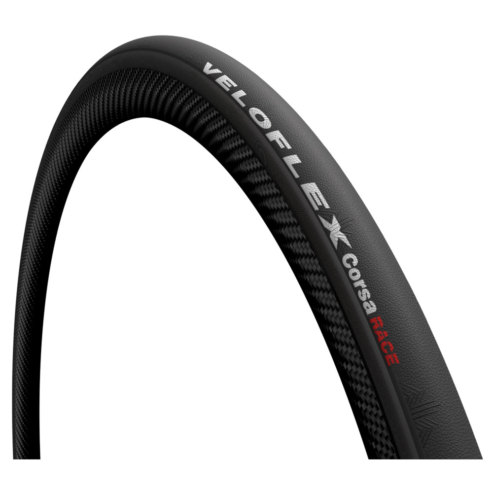 Veloflex Corsa Race Open Tubular Folding Tire - 25-622 - black