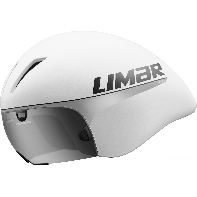 Limar Air King Helm - mit Visier - Matt White