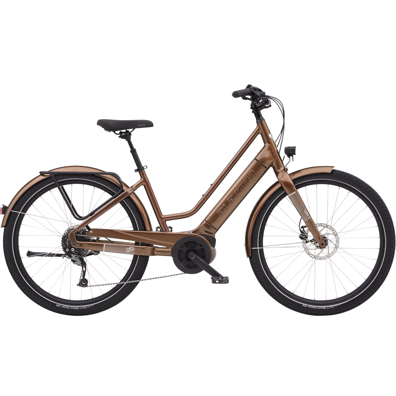 Produktbild von Electra Vale Go! 9D EQ Stadtrad E-Bike mit Tiefeinstieg - 500Wh - Mahogany Metallic