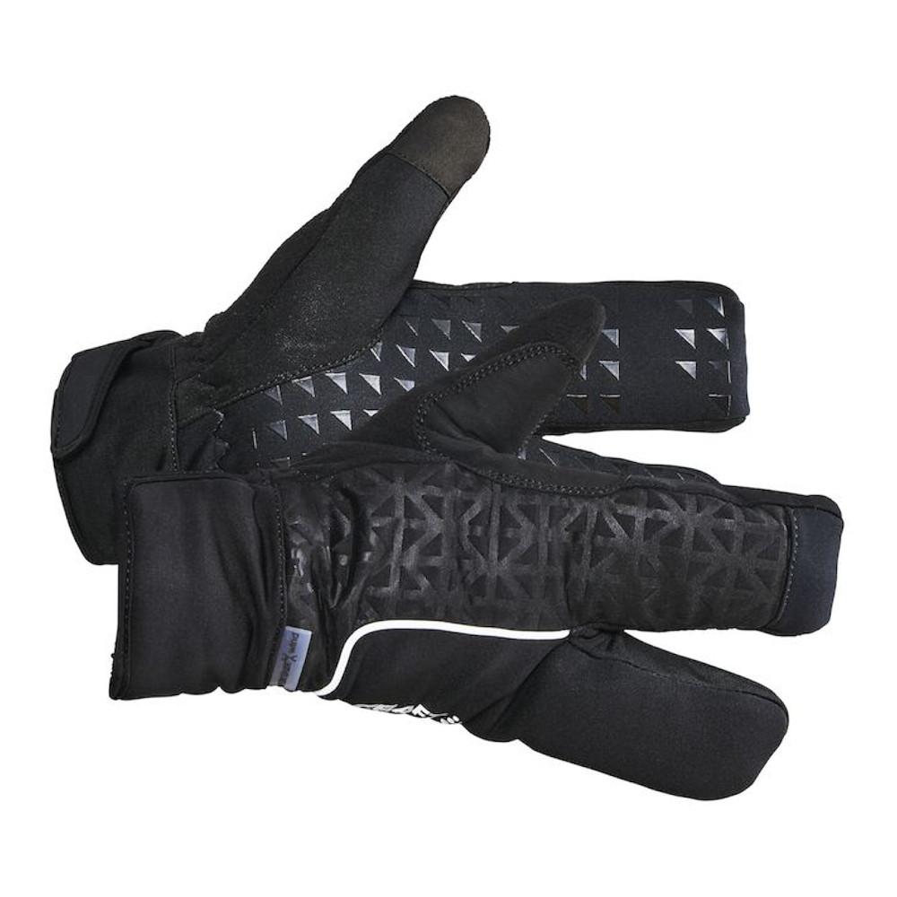 Image of CRAFT Siberian 2.0 Split Finger Gloves 1906571 - 999000 Black
