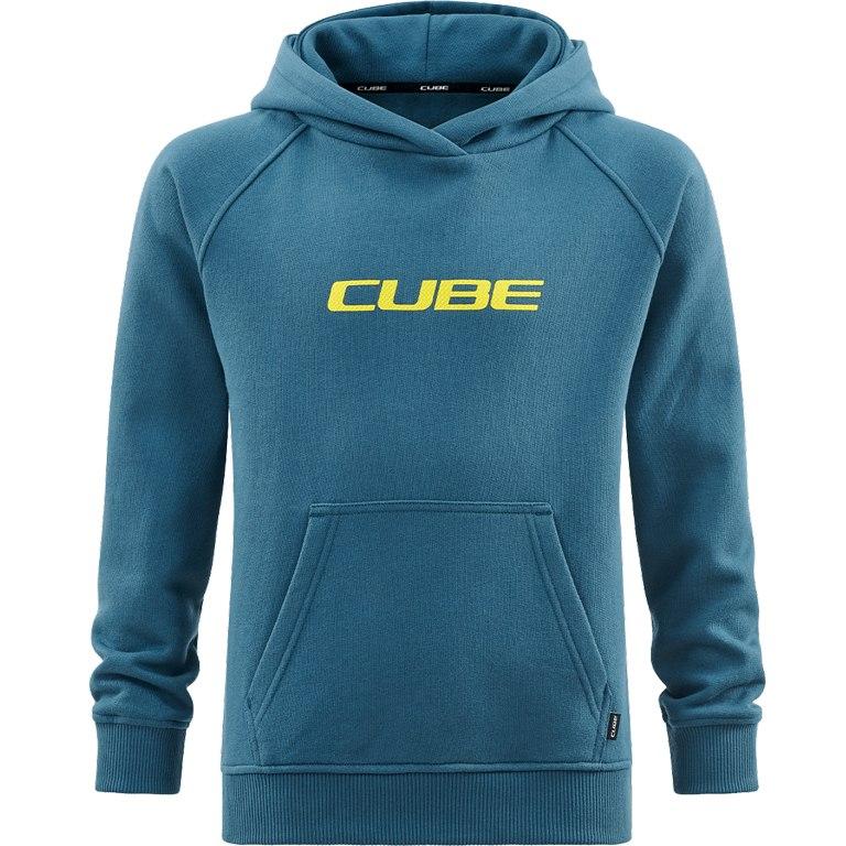 CUBE JUNIOR Organic Hoodie - petrol