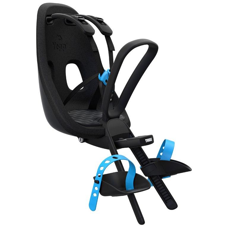 Thule Yepp Nexxt Mini Fahrrad-Kindersitz - Frontmontage - Obsidian (black)