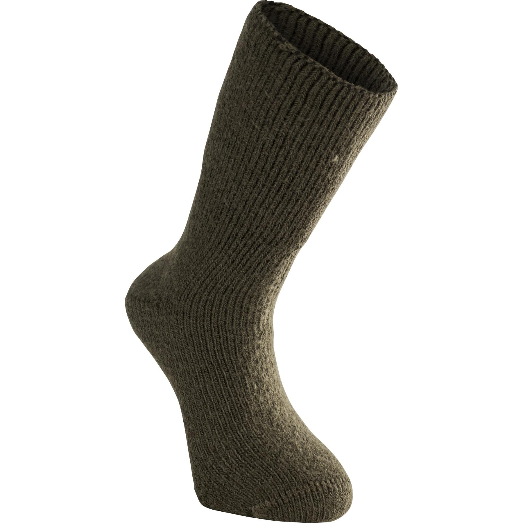 Woolpower Classic 600 Socken - pine green