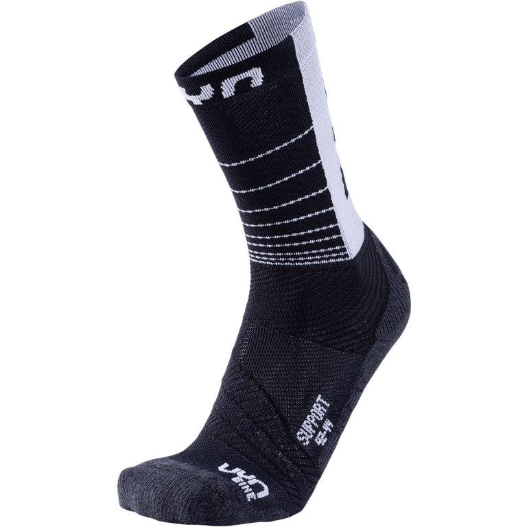 Bild von UYN Cycling Support Herren Socken - Black/White