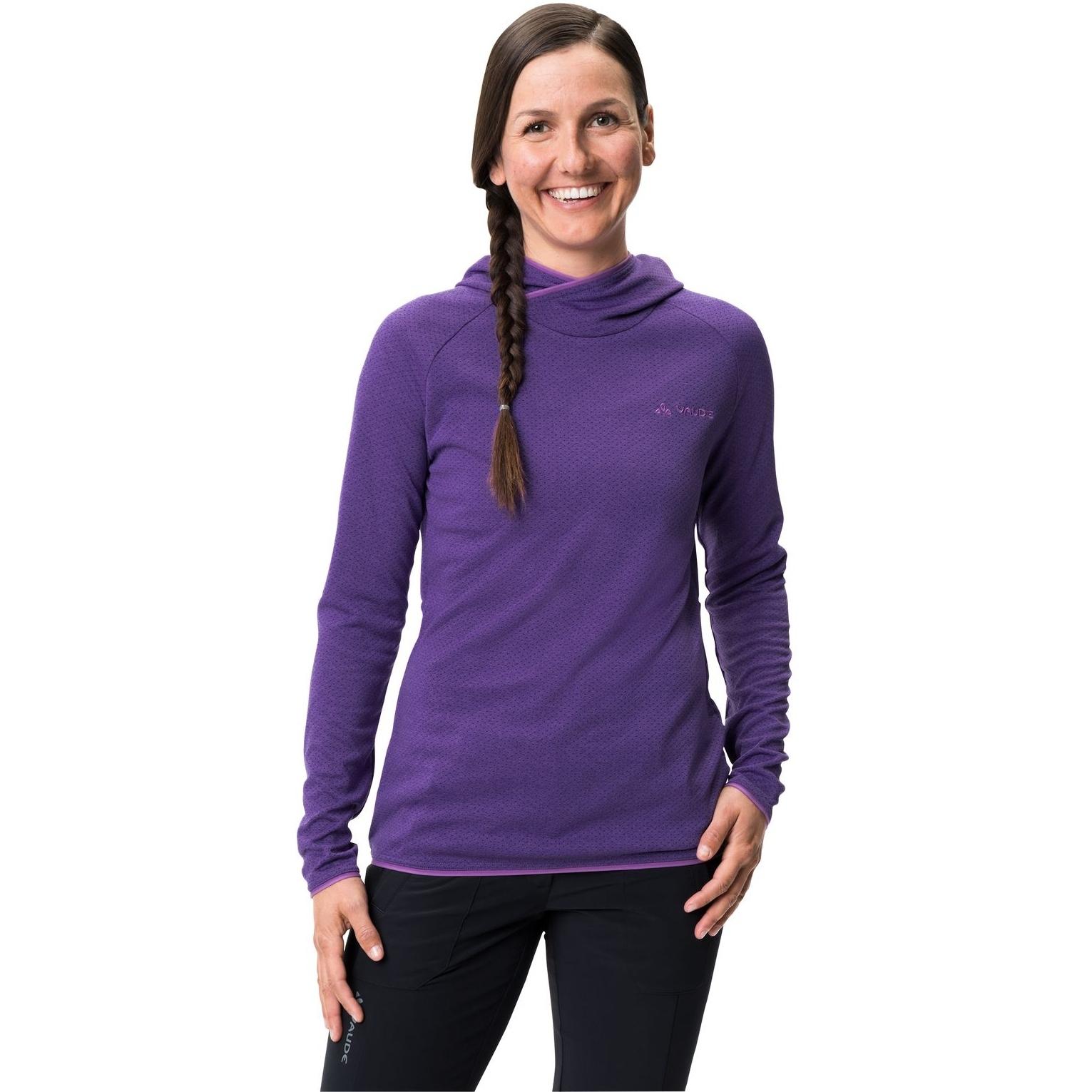 Bild von Vaude Miskanti LS T-Shirt II Damen - dark purple