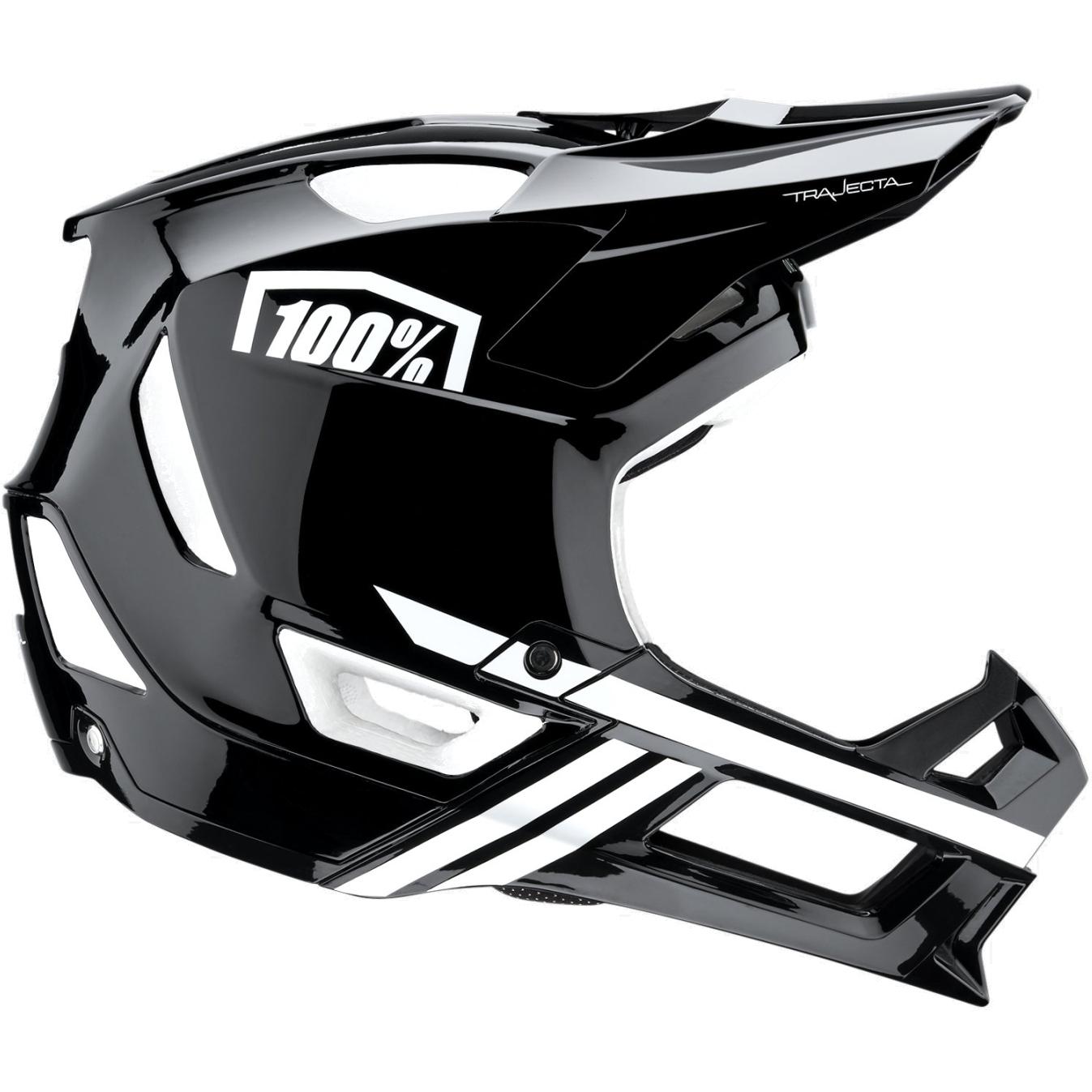 100% Trajecta Fidlock Casco - Black/White