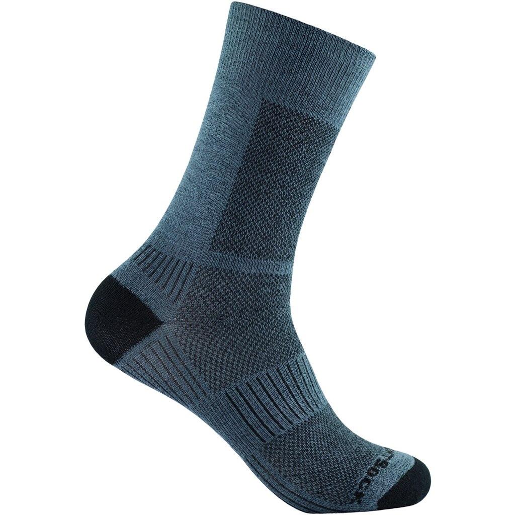 WRIGHTSOCK Coolmesh II Crew Double Layer Socks - grey - 806-04