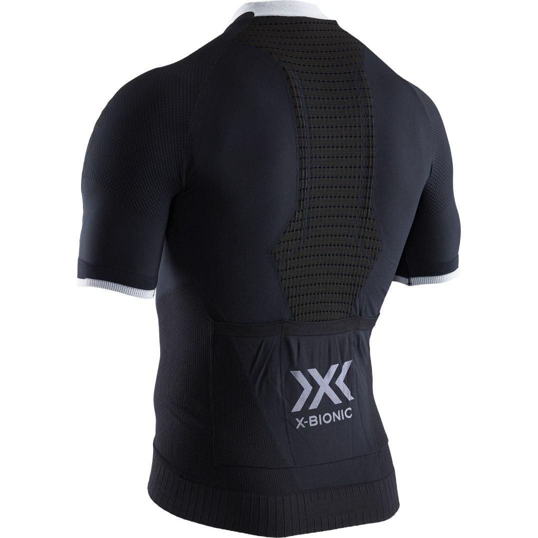 Bild von X-Bionic Invent 4.0 Bike Race Zip Kurzarmtrikot für Herren - opal black/arctic white