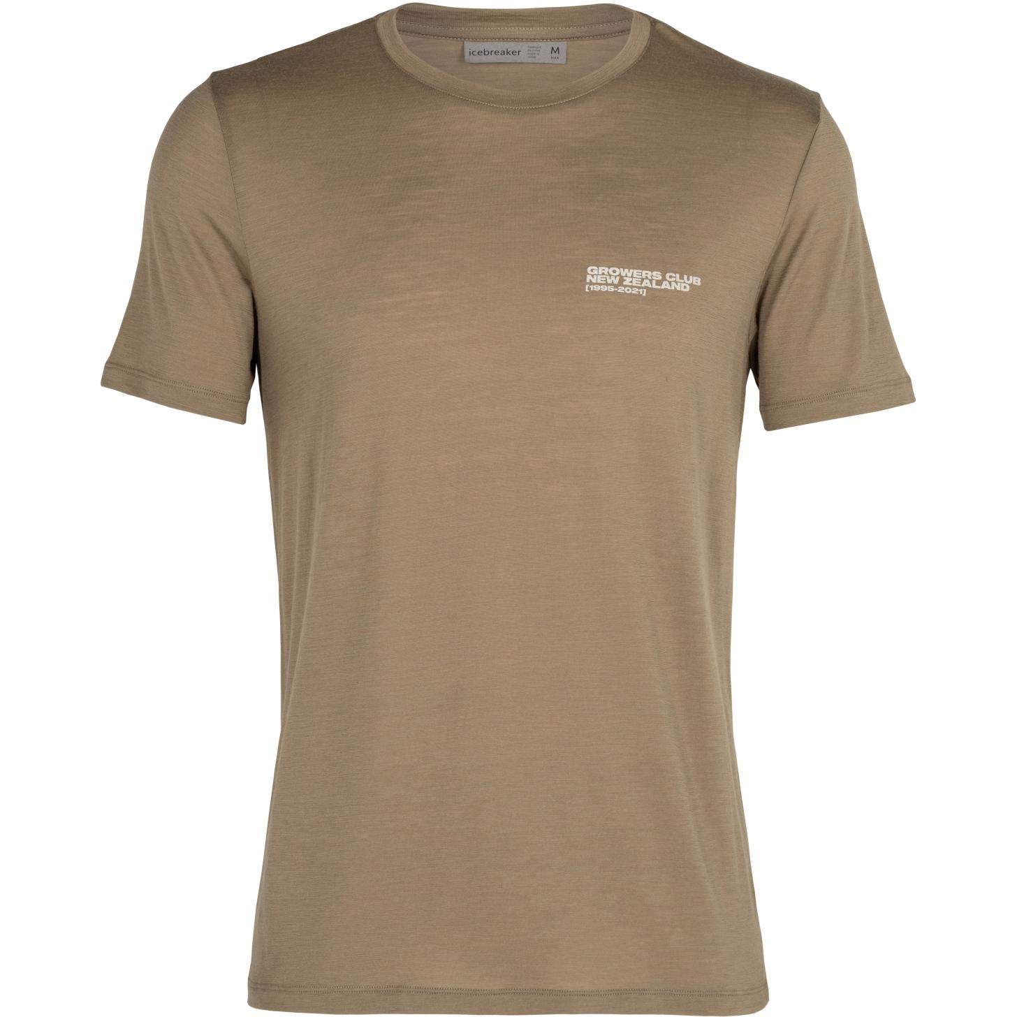 Produktbild von Icebreaker Tech Lite Crewe Growers Club Herren T-Shirt - Flint