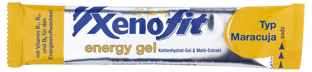 Bild von Xenofit Energy Gel mit Kohlenhydraten - Mixed Box - 30x25g
