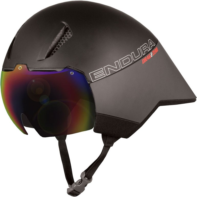 Endura Drag2Zero Aeroswitch Road Helm - schwarz