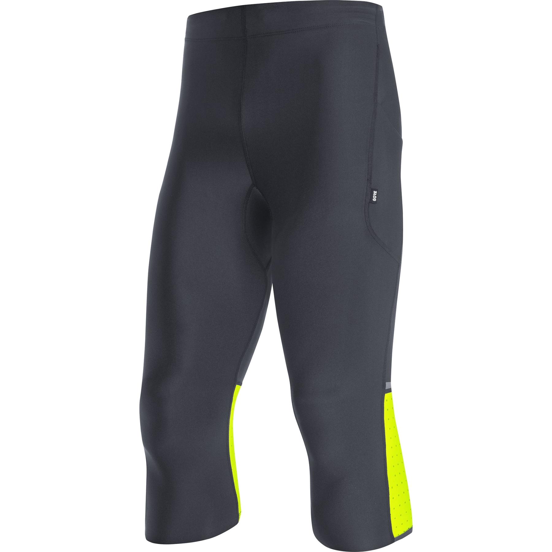 GORE Wear Impulse 3/4 Lauftights - neon yellow 0800