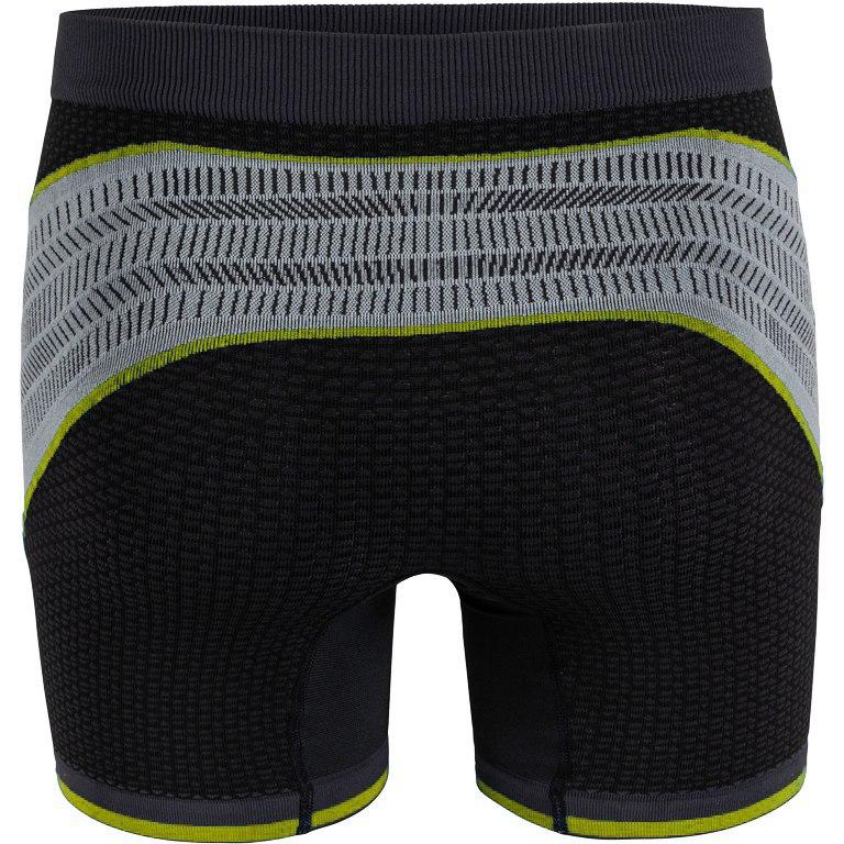 Bild von UYN Alpha Running Shorts - Charcoal/Pearl Grey/Yellow