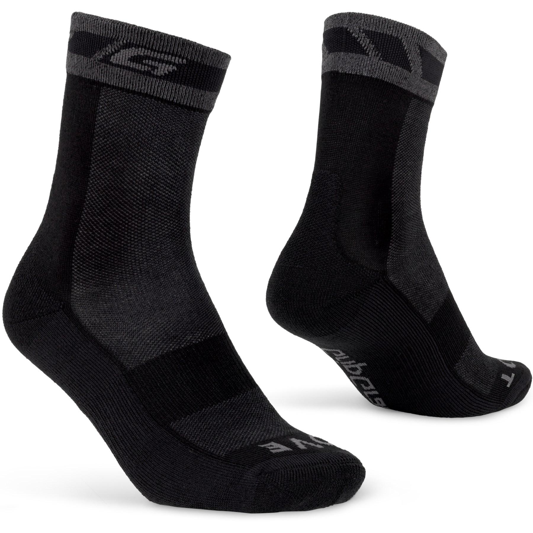 GripGrab Merino Winter Sock - Black