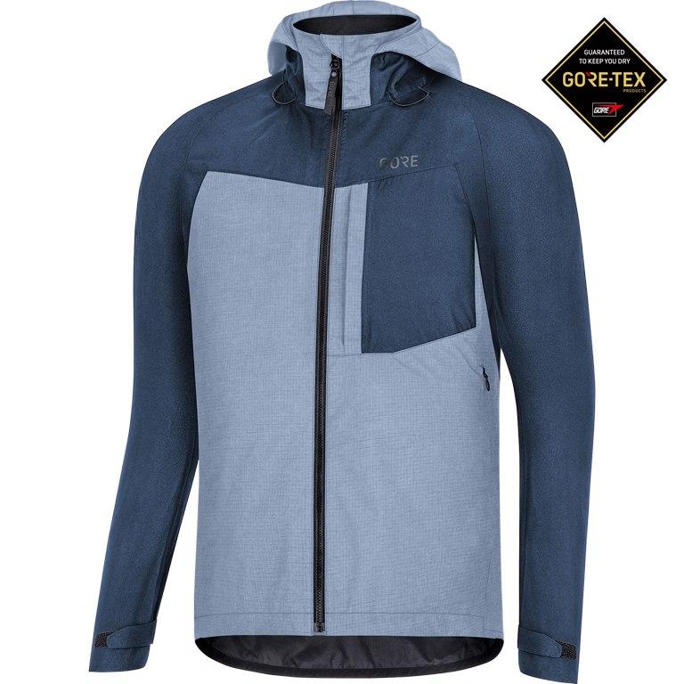 GORE Wear C5 GORE-TEX® Trail Hooded Jacket - deep water blue AH00