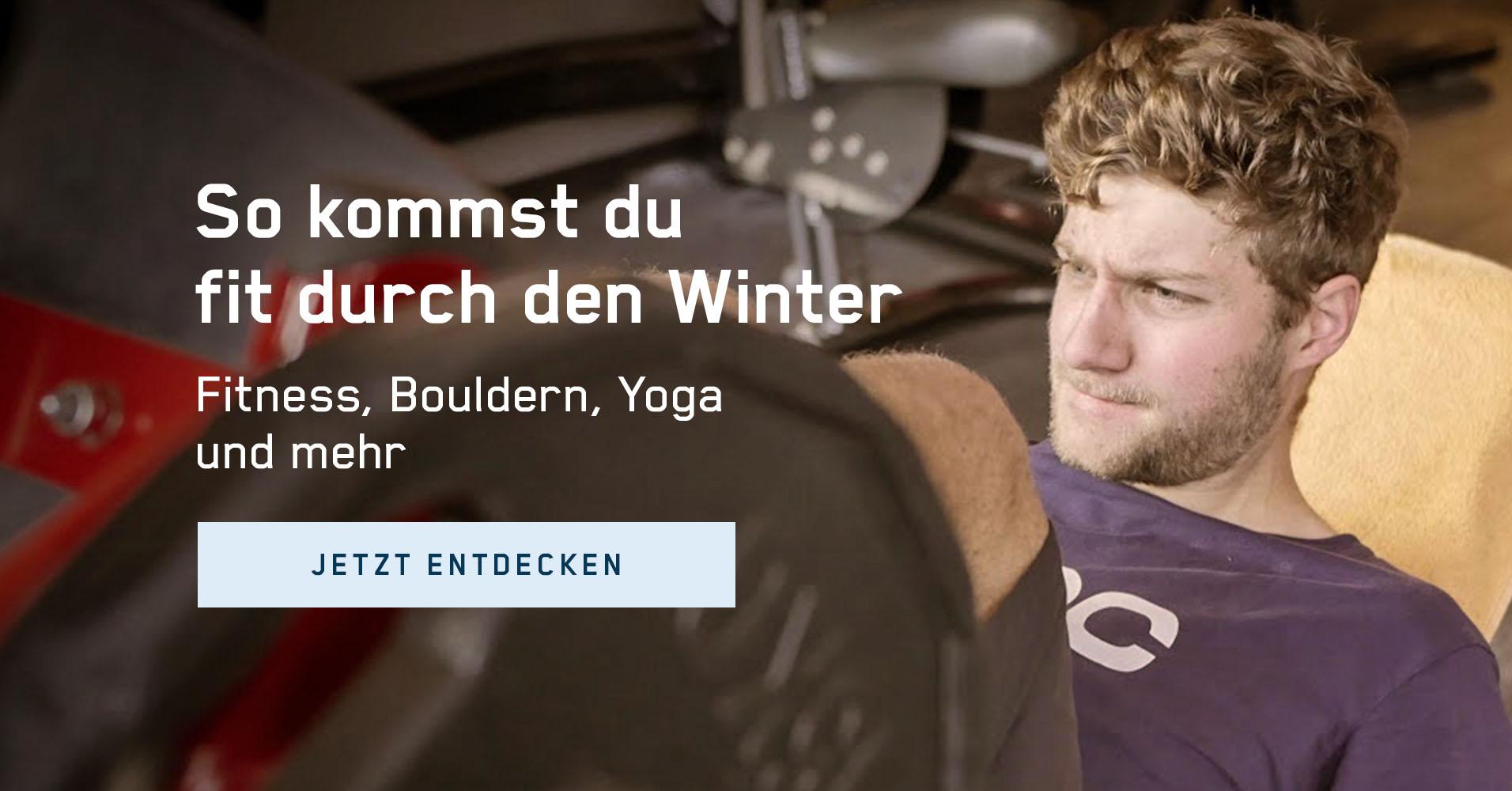 So geht Ausgleichstraining für Radfahrer  – Yoga, Bouldern, Fitness, Schwimmen, Laufen u. v. m.