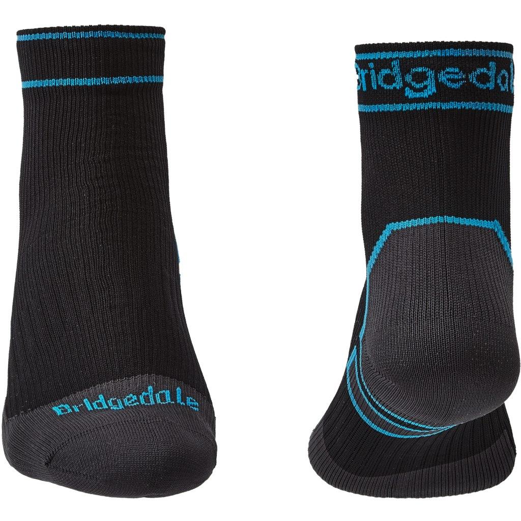 Image of Bridgedale Stormsock Midweight Ankle+ Socks - black/blue