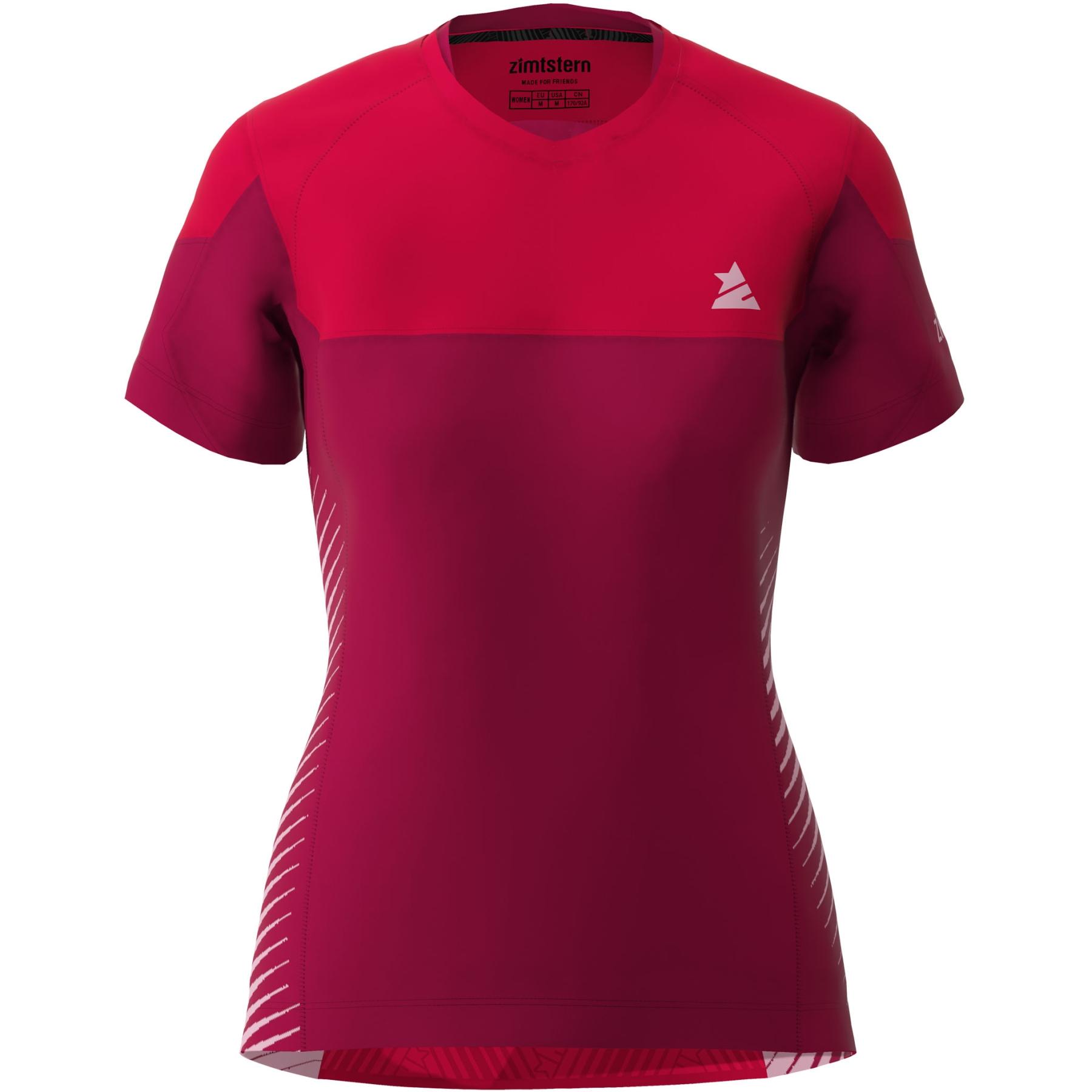 Zimtstern Bulletz Kurzarm-Shirt Damen - jester red/cyber red