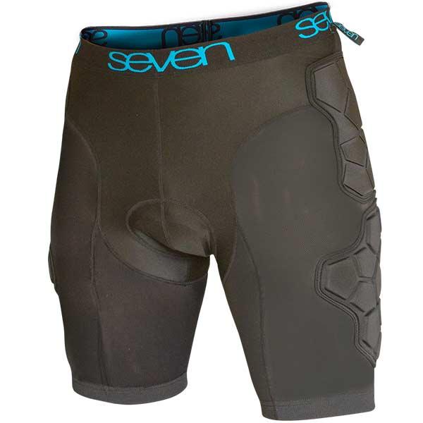 7 Protection 7iDP Flex Protector Shorts - black-blue