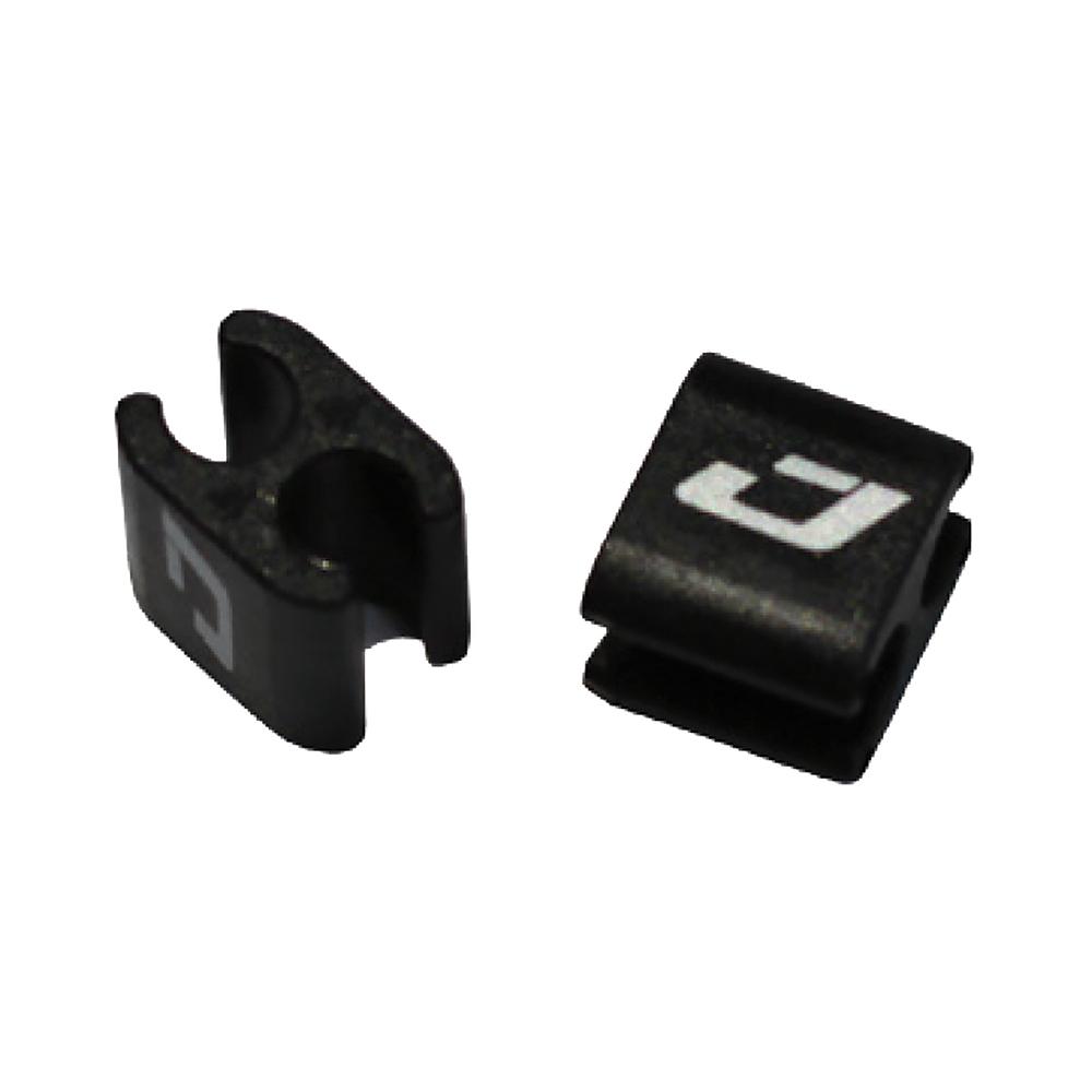 Jagwire Halter / Verbinder für Züge / Leitungen / elektrische Kabel - 4/4 mm (4 Stück)