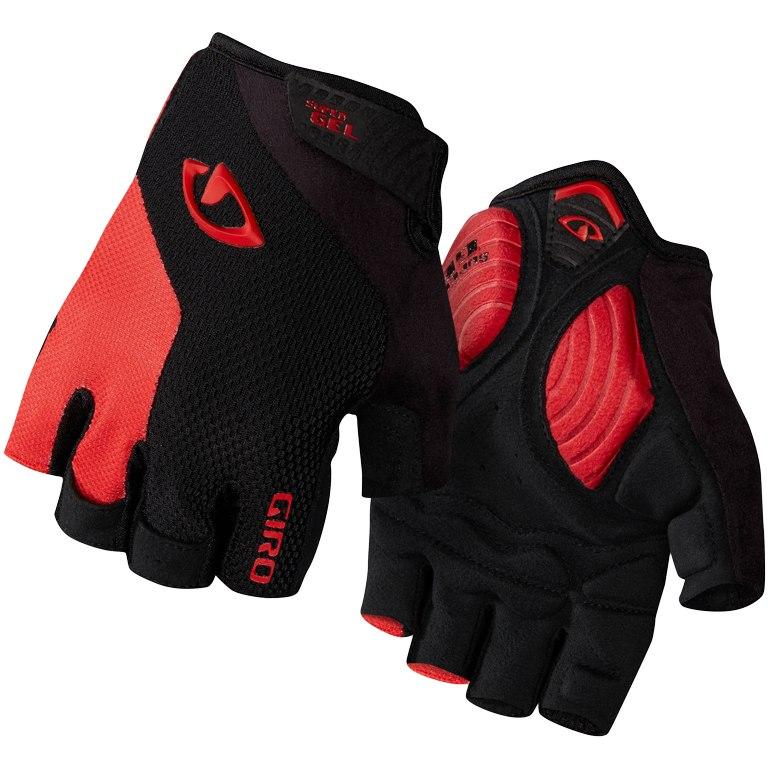 Giro Strade Dure Supergel Gloves - black/bright red