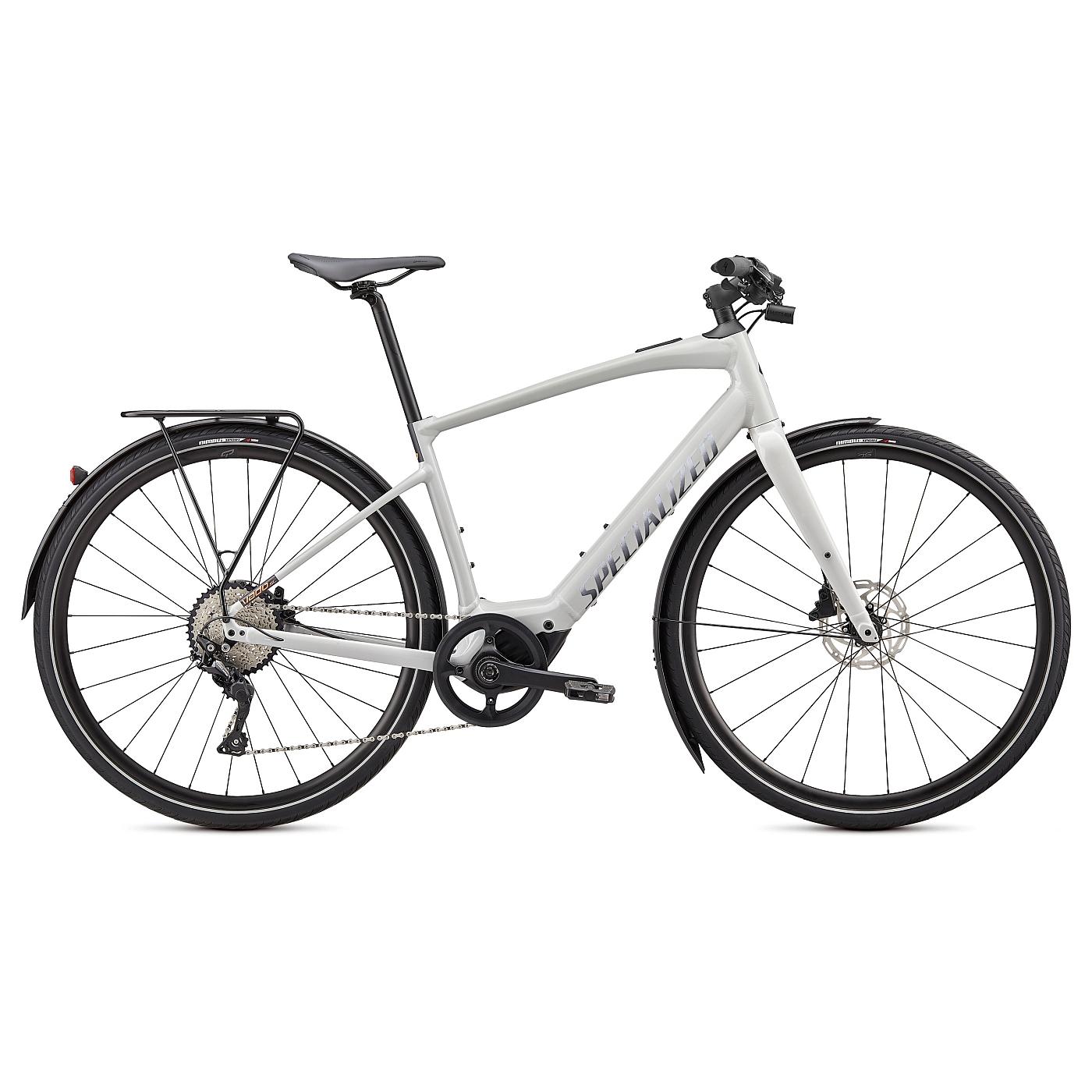 Produktbild von Specialized TURBO VADO SL 4.0 EQ E-Bike - 2021 - dove grey/acid lava/cast black