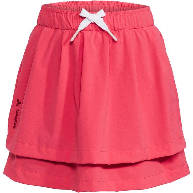 Vaude Kids Detective Skort Kinderrock - bright pink