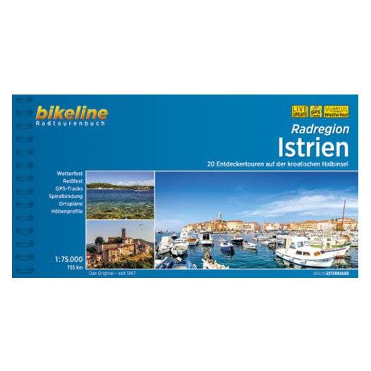 Image of Bikeline Bike Tour Books - Istrien - Auf 20 Touren die Halbinsel entdecken