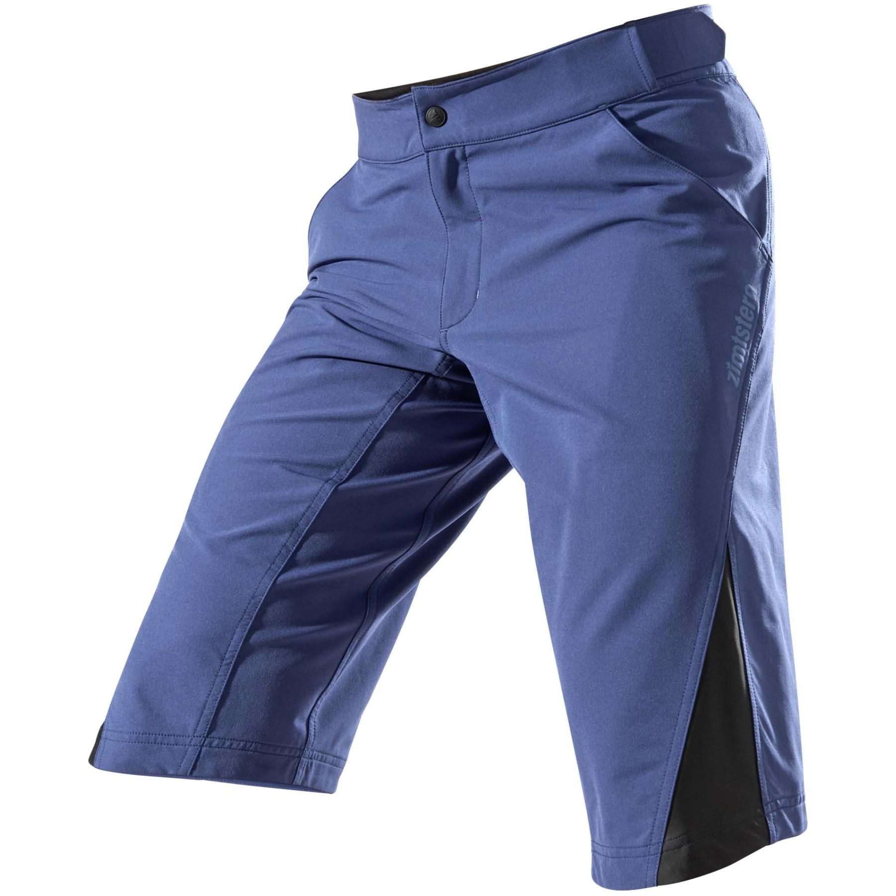 Zimtstern StarFlowz MTB-Shorts - french navy/black