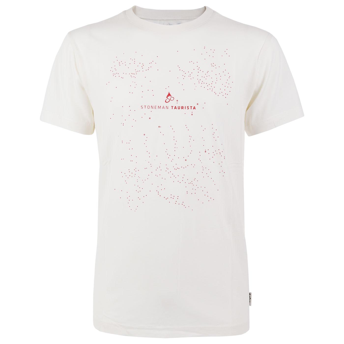 Stoneman Taurista Männer T-Shirt by Maloja - vintage white