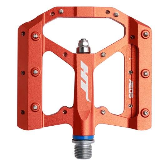 HT AE05 EVO+ Flat Pedal Aluminium - orange