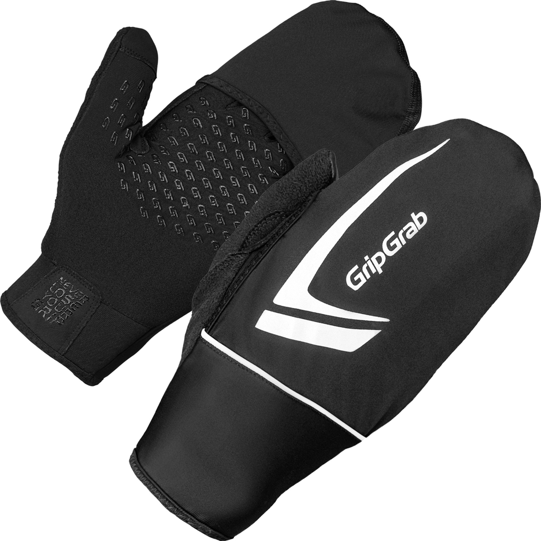GripGrab Running Thermo Windproof Touchscreen Glove - Black