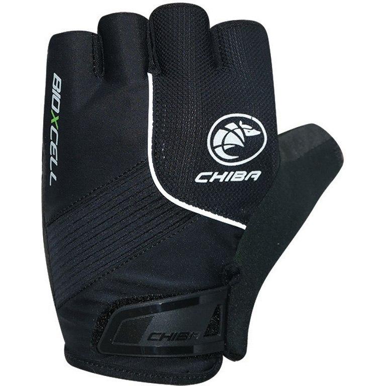 Chiba BioXCell Kurzfinger-Handschuhe - schwarz