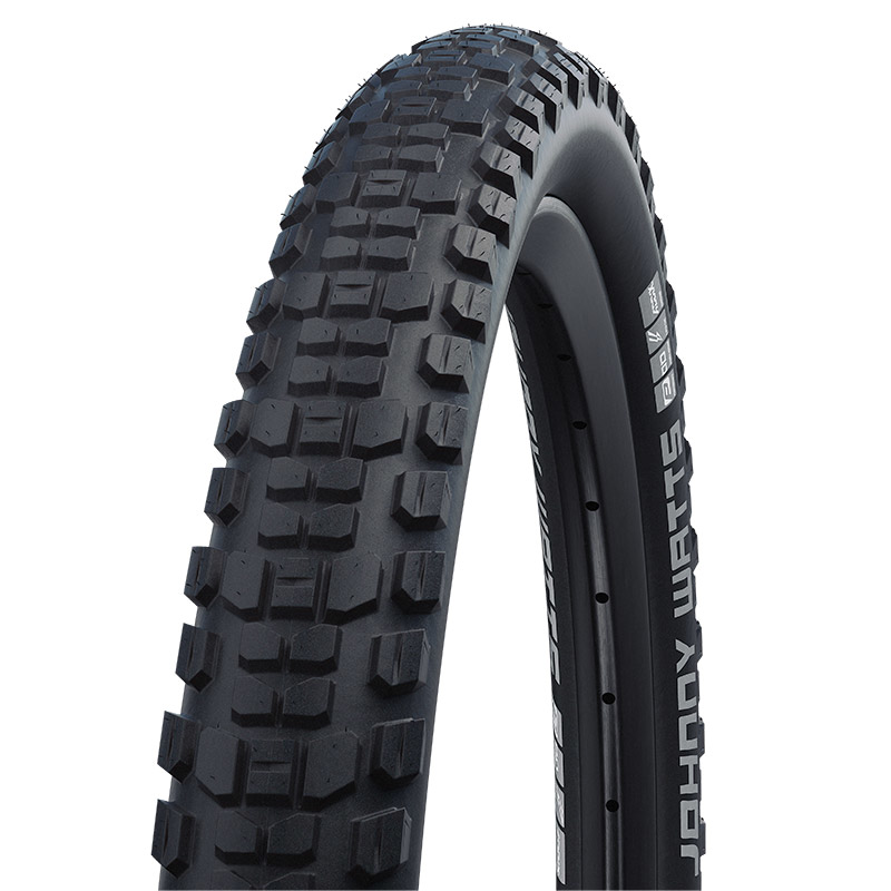 Schwalbe Johnny Watts Performance MTB Folding Tire - Addix - DD - RaceGuard - ECE-R75 - 29x2.35 Inches - Black