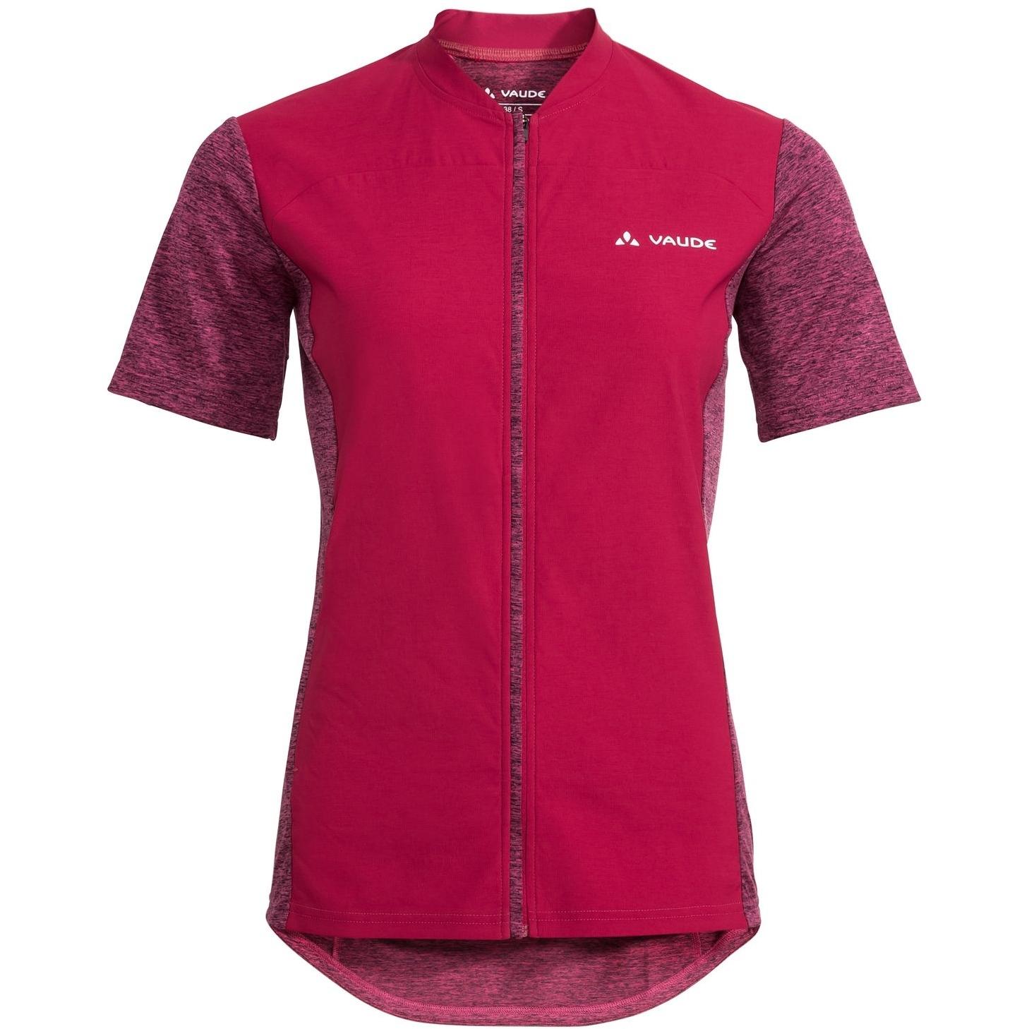 Vaude Qimsa Wind Damen T-Shirt - crimson red