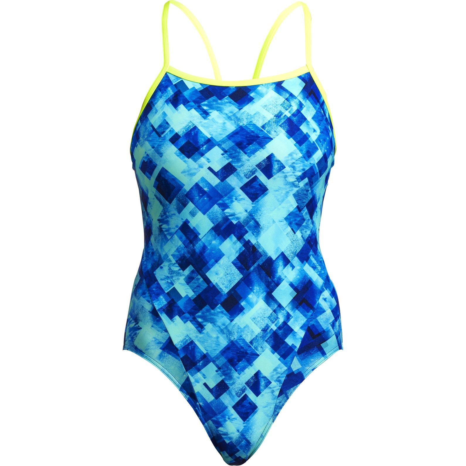 Funkita Ladies Single Strap One Piece Swimsuit - Depth Charge