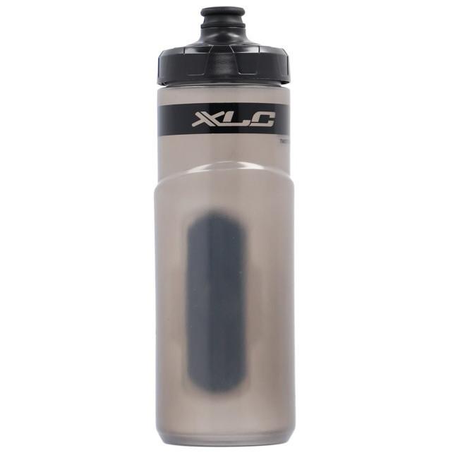XLC Fidlock Trinkflasche mit Basis Adapter - transparent