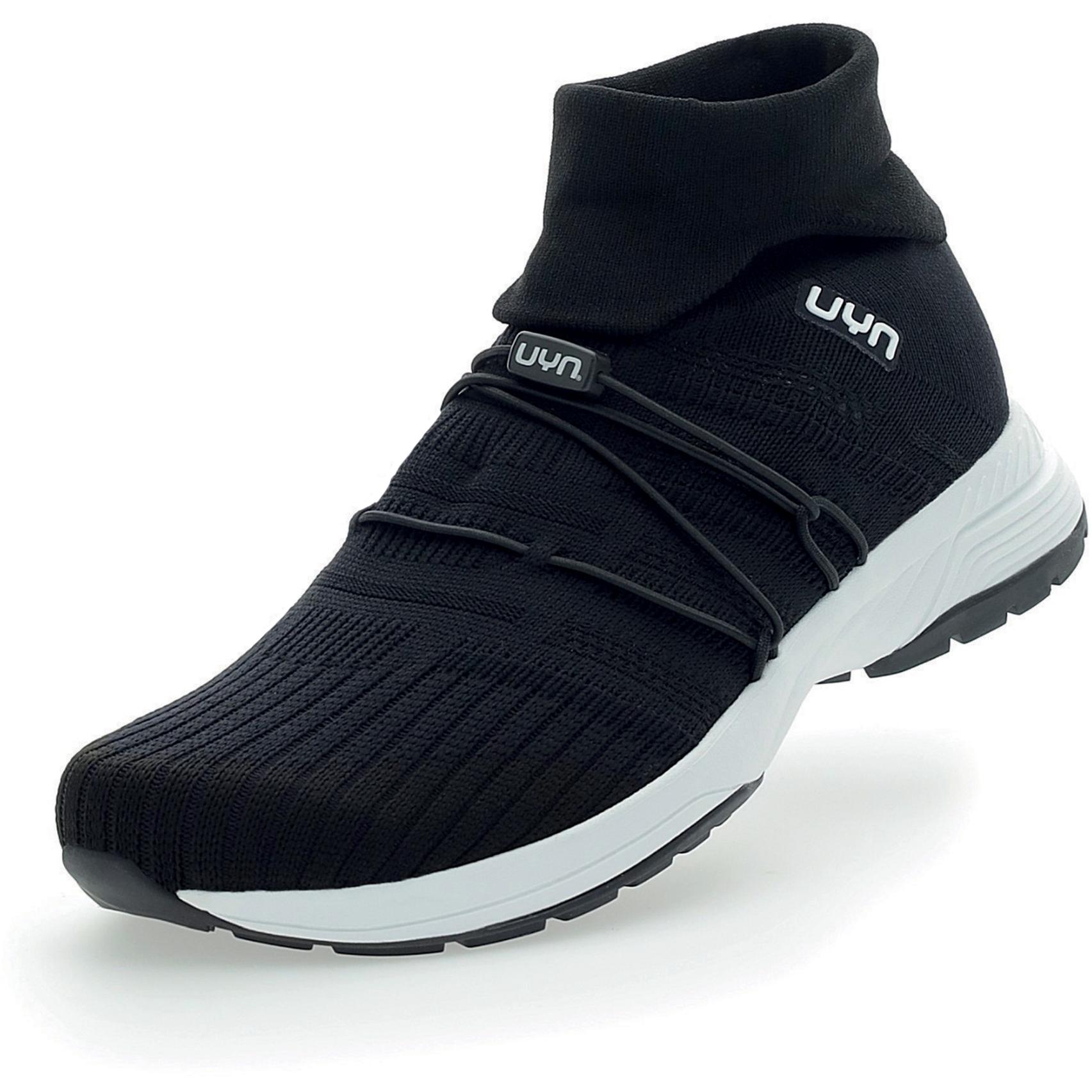 UYN Free Flow Tune High Running Shoes Women - Black
