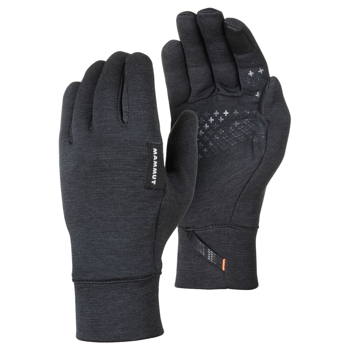 Picture of Mammut Wool Gloves - black mélange