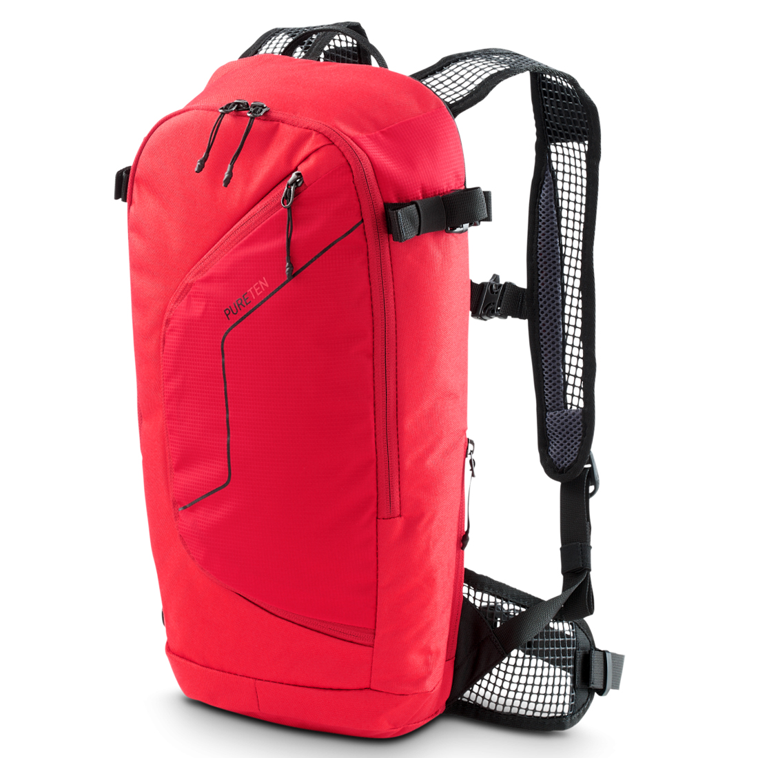 Picture of CUBE Backpack PUREten - red
