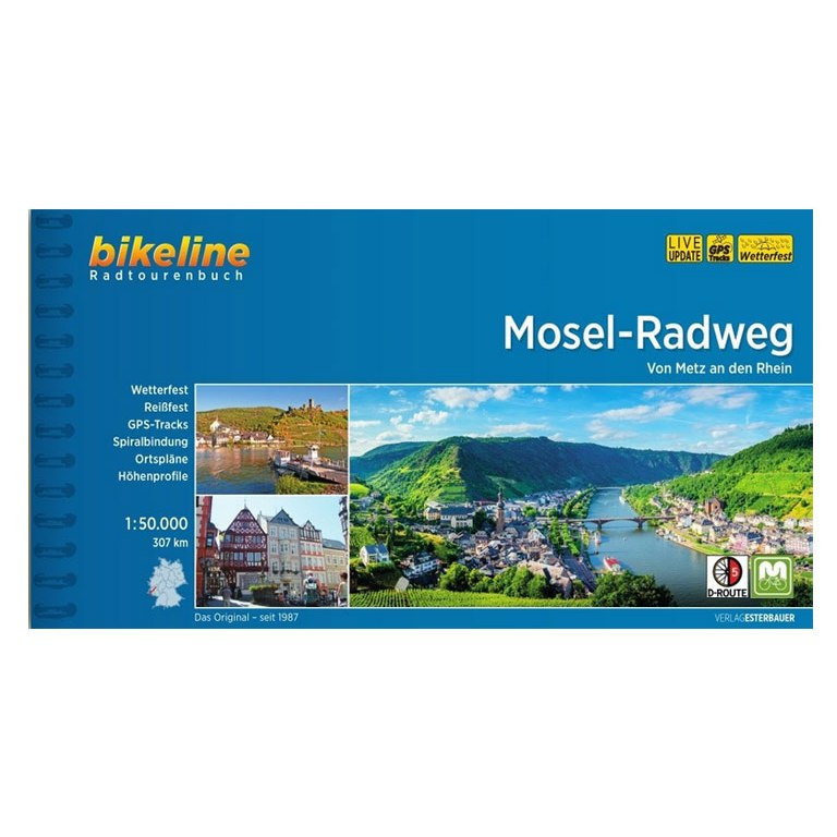 Bikeline Radtourenbücher - Mosel-Radweg