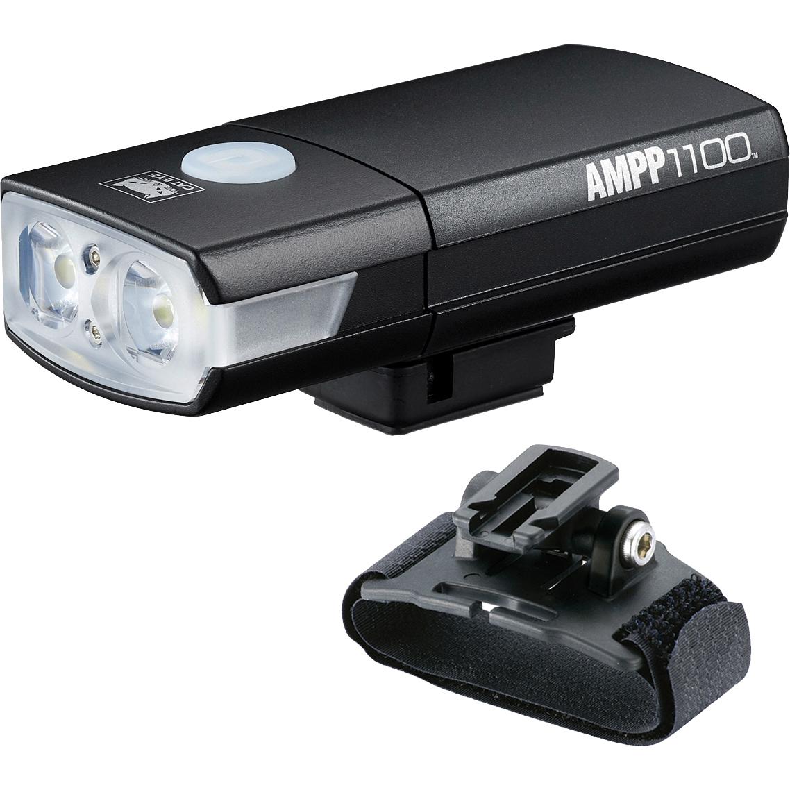 Produktbild von Cat Eye AMPP 1100 Helmlampe HL-EL1100RC