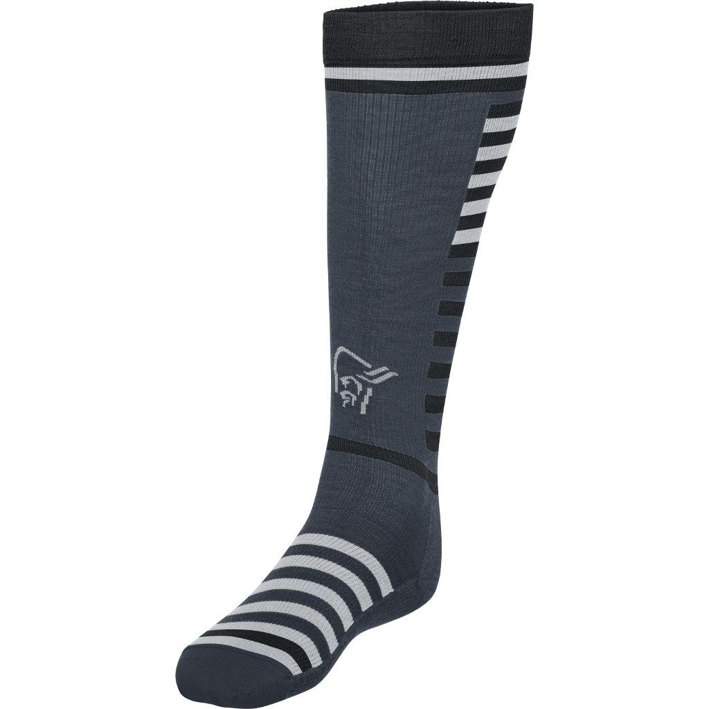 Norrona lyngen light weight Merino Socks long - Cool Black