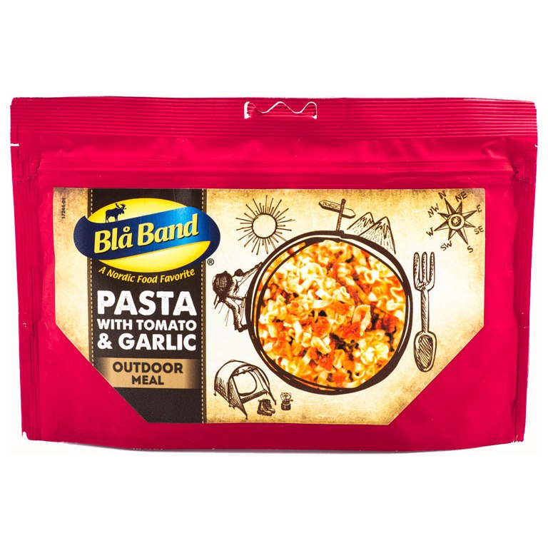 Image of Blå Band Pasta with Tomato & Garlic - Outdoor-Meal - 149g