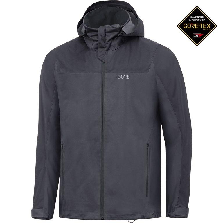 Foto de GORE Wear R3 GORE-TEX® Active Chaqueta con capucha - terra grey/black 0R99
