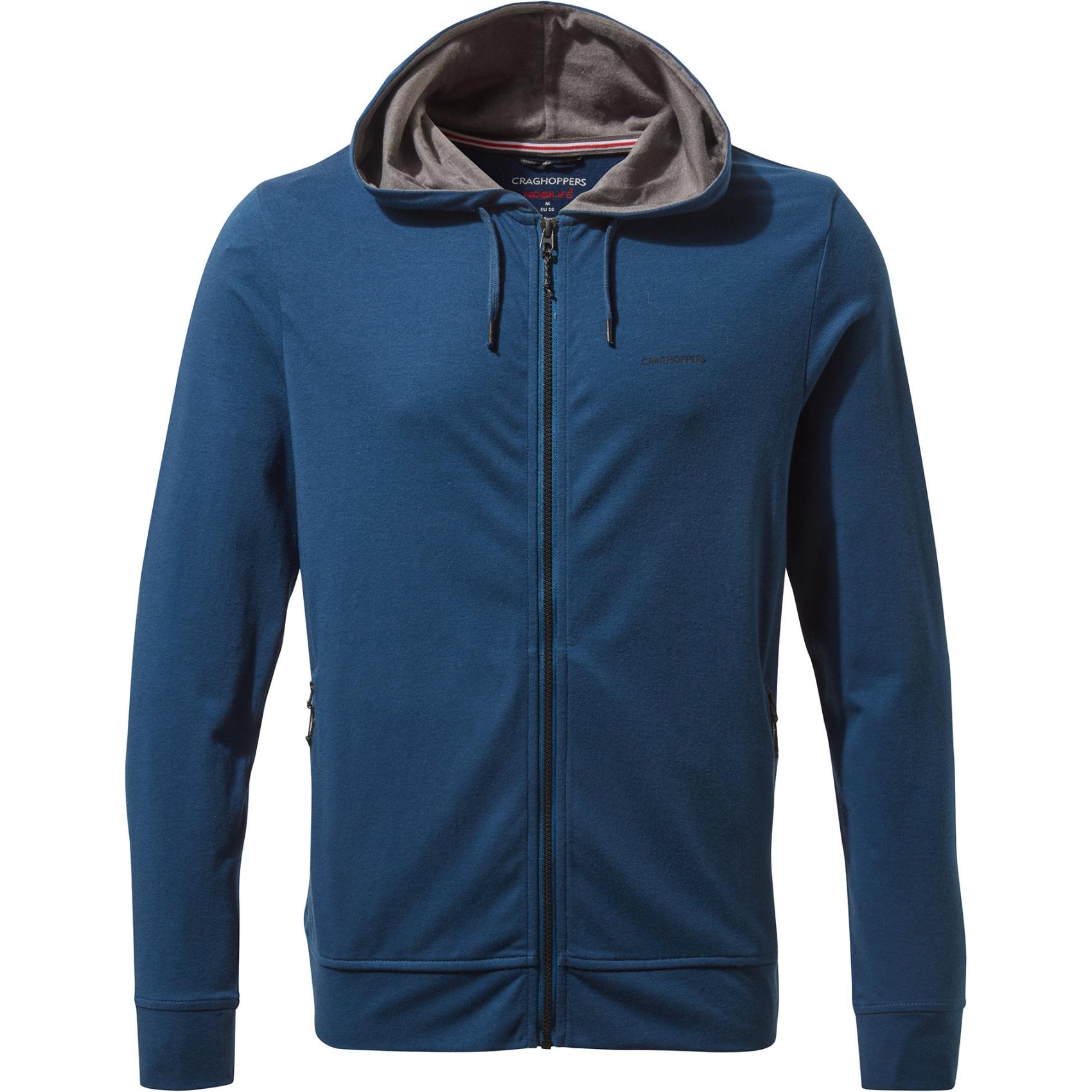 Craghoppers NosiLife Tilpa Hooded Jacket - Poseidon Blue